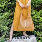 női válltáska mézeskalács