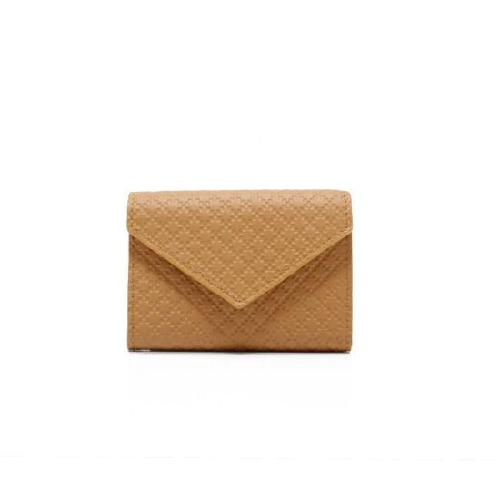 pénztárca bőr sárga