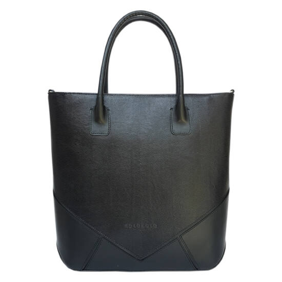 Női mozaik fekete táska
