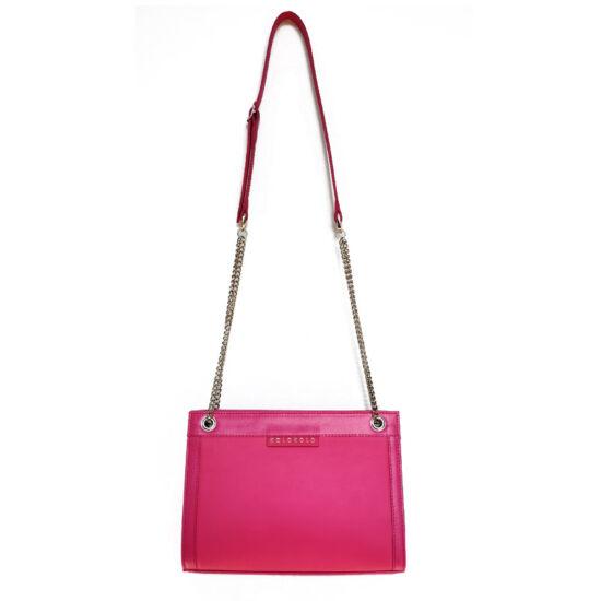 pink láncos táska