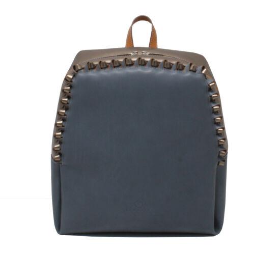 Női kék-bronz-csau barna hátizsák