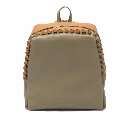 Női khaki-csau-barna hátizsák
