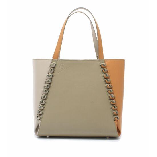 női bézs khaki barna táska