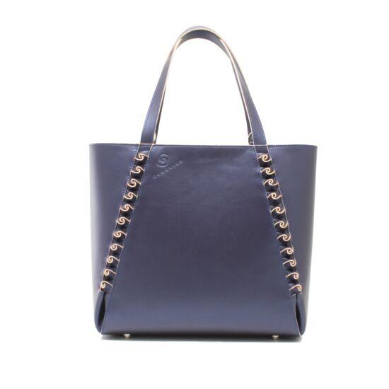 női táska szilvakék