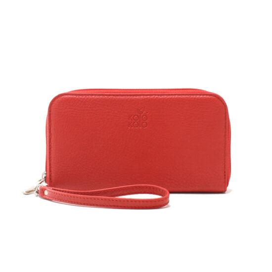 Piros kloccolt pénztárca