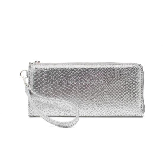 ezüst pikkely pénztárca