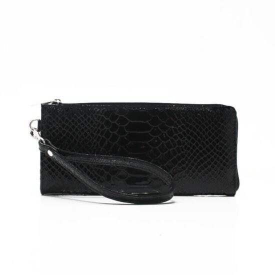 fekete phyton pénztárca