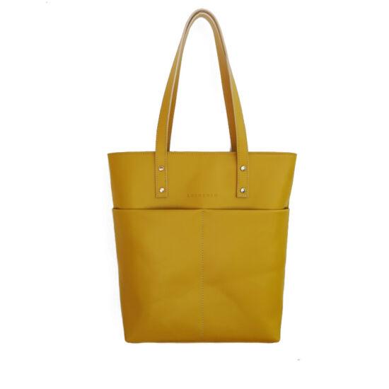 shopper sárga